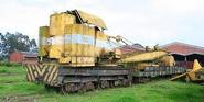 A 1900 Smith Of Rodley Steam Railcrane 20T awaiting restoration