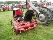 Morris Bamlett mower conversion rear