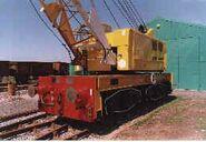 1960s Coles Reliance Railcrane