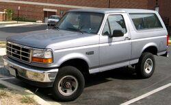 5th-gen Ford Bronco XL