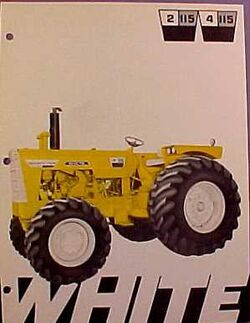 White 4-115 Mighty Tow Industrial MFWD ad - 1970.jpg