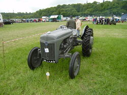 Ford-Ferguson tractor at Belvoir Castle show 2008.JPG