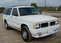 1992 Oldsmobile Bravada
