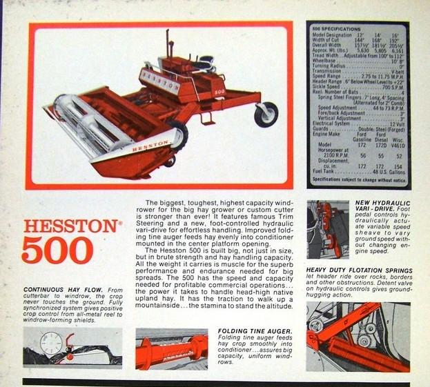 Hesston 500