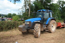 New Holland TM150 tractor at Much Marcle 2014 - IMG 1009.JPG
