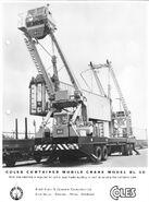 1970s Coles Mobile Containercrane BL30