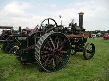 Ruston Proctor engine No33189 side