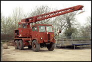 1960s COLES Argus 6X6 AEC Cranetruck