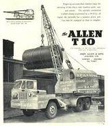 ALLEN T10 Cranetruck 6X4