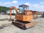 A 1990s Smalley Crawler Excavator 5T Diesel
