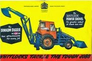 A 1960s Whitlock Brothers Dinkum Digger