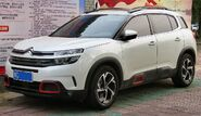 2018 Dongfeng-Citroën C5 Aircross, front 8.9.18
