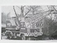 A 1970s Smith Of Rodley LT15 AWD Vickers cranetruck