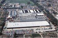 A view of the Scammell Motors tactory premises at Watford UK
