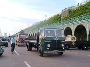 A 1940s LEYLAND Beaver Lorry Diesel flatbed