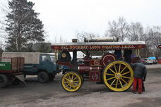 Foster no 14431 showmans tractor (FE3217) at GCR 2013 IMG 8503