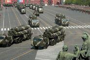 S-400 SAMS during the May parade 2010