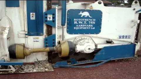 AARDVARK R W T 75 S IN TARMAC WITH CONVEYOR