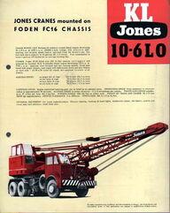 JONES KL10-6LO on Foden FC16 Carrier