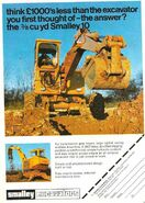 A 1980s Smalley Excavator Diesel