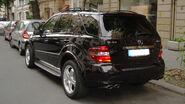 Black ml63amg rear