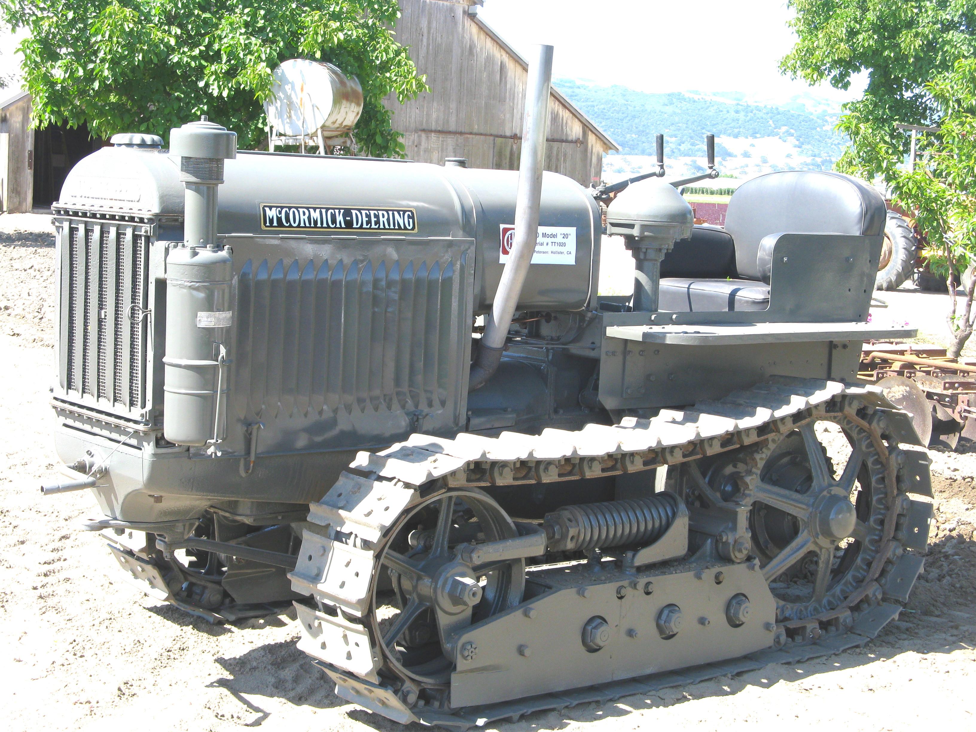 McCormick-Deering Model T-20 TracTracTor