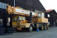 ALLEN-GROVE H2564 Cranetruck 6X4 Diesel of the 1980s