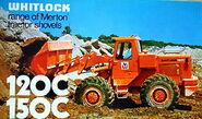 A 1970s Whitlock Merton 150C 4WD Loader Diesel