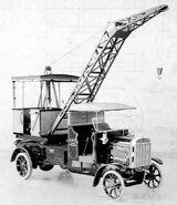 1920s Coles Tilling Stevens Mobilecrane