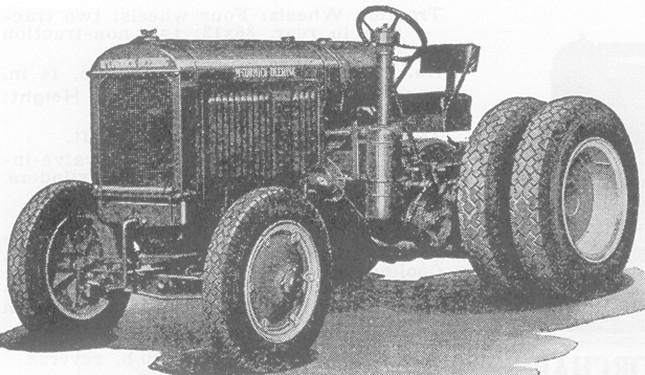 McCormick-Deering 30 Industrial