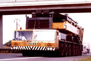 1980s Coles Colossus L6000 Port Cranetruck