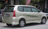 Toyota Avanza (first generation, first facelift) (rear), Serdang