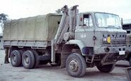 A 1970s LEYLAND Super Mastiff Military Truck 6WD Diesel