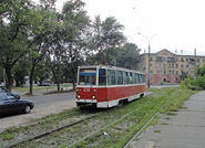 Tram in Lipeck