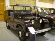 1958 Land Rover Series II 88 Royal Review Vehicle State II Heritage Motor Centre, Gaydon