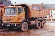 A 1970s LEYLAND Bison Diesel Dumptruck