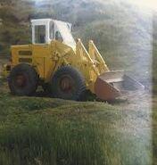 A 1980s weatherill l61 4WD loader