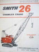 A 1980s Smith Of Rodley 26 Crawlercrane