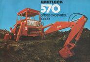 Whitloc 570 backhoe loader brosh