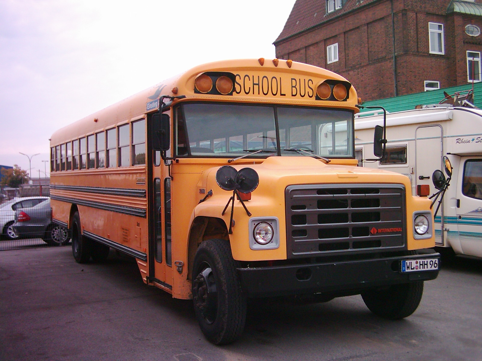 International Harvester S-Series (bus chassis) | Tractor & Construction  Plant Wiki | FandomTractor & Construction Plant Wiki - Fandom