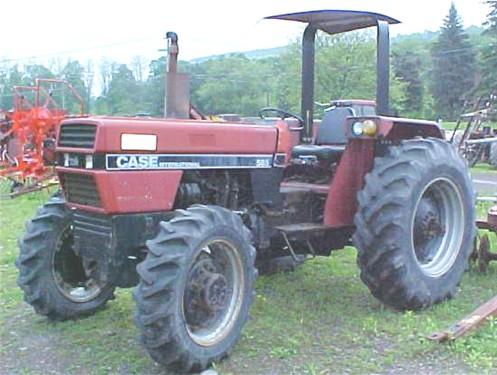 Case IH 585 row crop 4WD