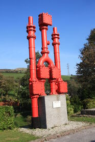 Plunger pump at Wheal Martyn museum - IMG 0202