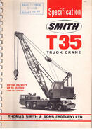 A 1970s Smith Of Rodley T35 Foden Cranetruck