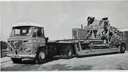A 1960s Foden Haulage unit with a Allen Trencher Diesel 1660