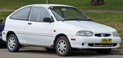 1997–2000 Ford Festiva (WD/WF) Trio 3-door hatchback (Australia)