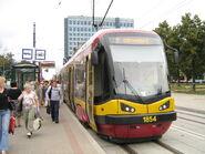 Tramwaj PESA 122N w Łodzi