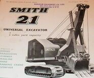 A 1950s Smith Of Rodley 21 Excavator Diesel