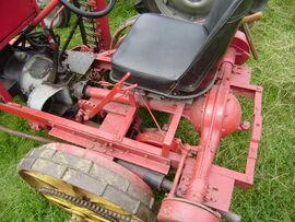Morrs Bamlett mower detail