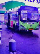 Mudan MD 6750 Hopper bus built by Jiangsu Mudan