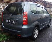 2011 Daihatsu Xenia 1.3 Xi Deluxe (rear), Malang